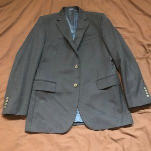 Stafford Travel Slim-Fit Suit Separate Jacket Navy